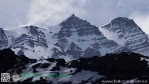 Snow caped mountains of Shah Alborz