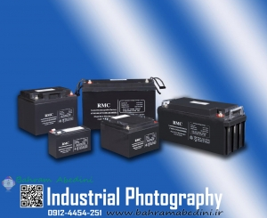 RMC battery product photography
