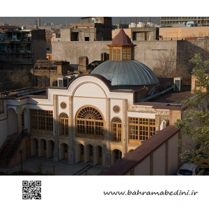 Nasereddin Mirza old house from Qajar Period in Tehran